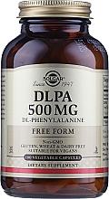 "Parfumuri și produse cosmetice Supliment alimentar 500mg ""Complex aminoacid"" - Solgar DLPA DL-Phenylalanine"