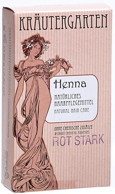 Henna pentru păr - Styx Naturcosmetic Henna Rot Stark