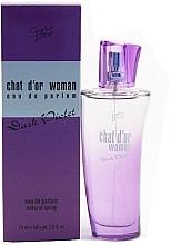 Parfumuri și produse cosmetice Chat D'or Dark Violet Woman - Apă de parfum