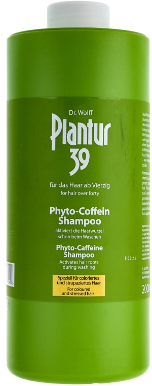 Șampon împotriva căderii părului - Plantur Nutri Coffein Shampoo