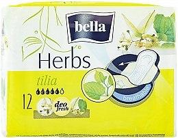 Parfumuri și produse cosmetice Absorbante Panty Herbs Tilia, 12 bucăți - Bella