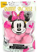 """Parfumuri și produse cosmetice Bilă efervescentă """"Căpșună"""" - Mad Beauty Disney Minnie Mouse Bath Fizzer Strawberry"""