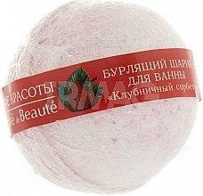"""Parfumuri și produse cosmetice Bilă efervescentă pentru baie """"Sorbet de căpșuni"""" - Le Cafe de Beaute Bubble Ball Bath"""