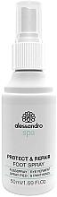 Parfumuri și produse cosmetice Spray antimicrobian pentru picioare - Alessandro International Spa Protect & Repair Foot Spray