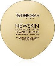 Parfumuri și produse cosmetice Pudră-bază compactă - Deborah New Skin Compact Foundation