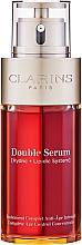 Parfumuri și produse cosmetice Ser dublu pentru față - Clarins Double Serum Complete Age Control Concentrate