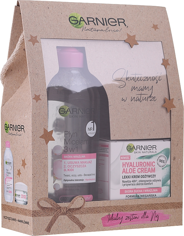 Set - Garnier (f/cr/50ml + micellar water/400ml)