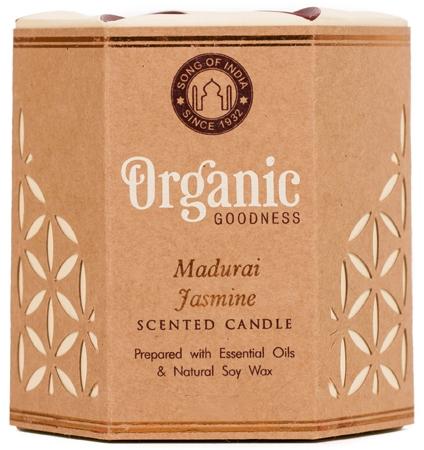 "Lumânare aromatică ""Madurai Jasmine"" - Song of India Scented Candle — Imagine N1"