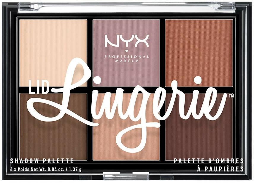 Paletă fard de ochi - NYX Professional Makeup Lingerie Shadow Palette
