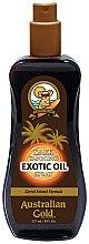 Parfumuri și produse cosmetice Ulei spray pentru accelerarea bronzului - Australian Gold Dark Tanning Exotic Oil Spray