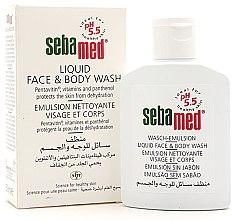 Parfumuri și produse cosmetice Emulsie pentru față și corp - Sebamed Liquid Face & Body Wash