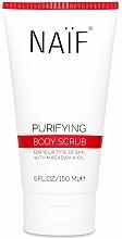 Parfumuri și produse cosmetice Scrub pentru corp - Naif Natural Skincare Purifying Body Scrub