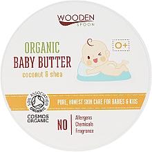 Parfumuri și produse cosmetice Balsam de corp, pentru copii - Wooden Spoon Organic Baby Butter
