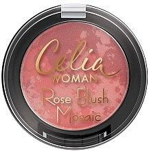 Parfumuri și produse cosmetice Fard de obraz - Celia Woman Rose Blush Mosaic
