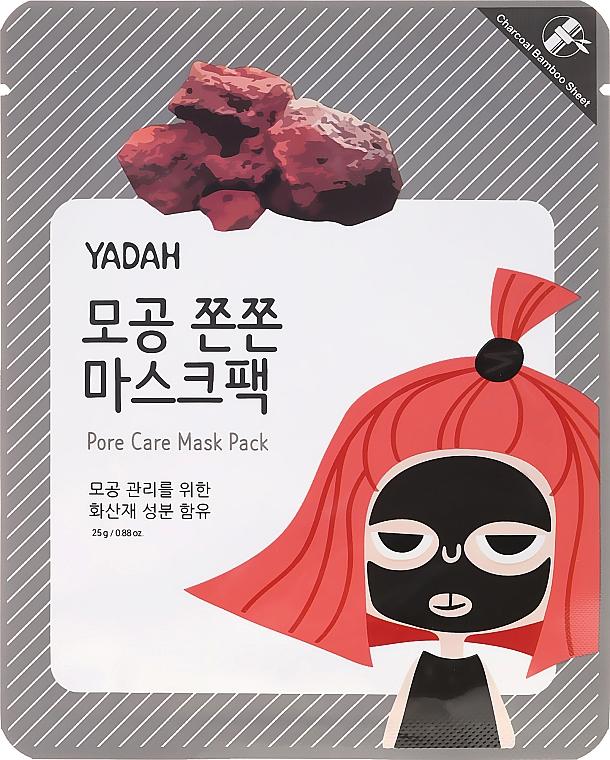 Mască de țesut împotriva porilor dilatați - Yadah Pore Care Mask Pack