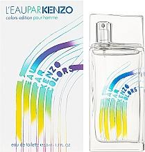 Kenzo Leau Par Colors Pour Homme - Apă de toaletă — Imagine N2