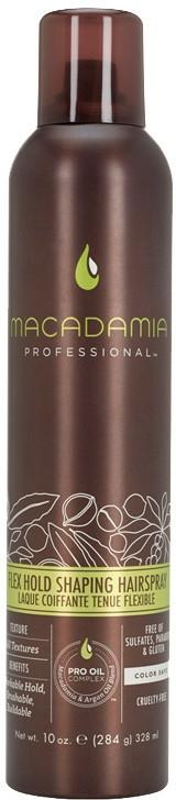 Lac de păr - Macadamia Professional Flex Hold Shaping Hairspray — Imagine N2