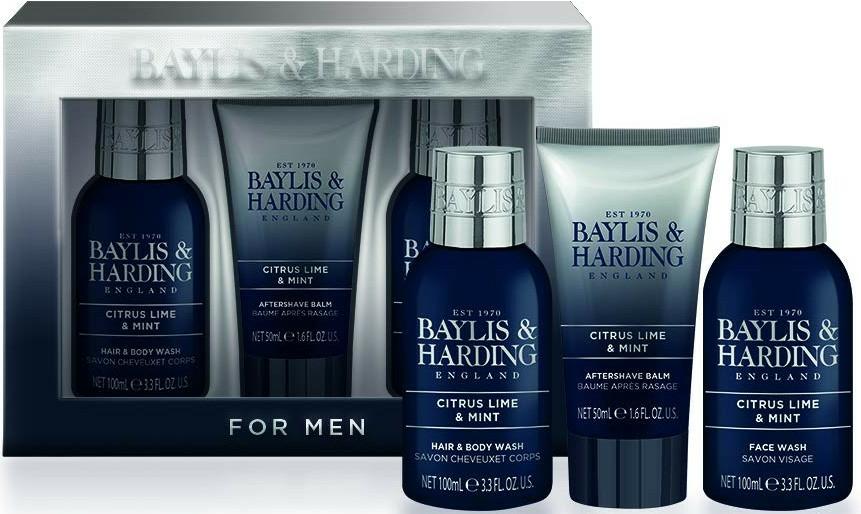Set - Baylis & Harding Citrus Lime & Mint (b/wash/100ml + a/s/balm/50ml + wash/100ml) — Imagine N4