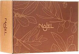 Parfumuri și produse cosmetice Set - Najel For Him Special Set (soap/100g+ deo/90g+oil/125ml+soap/dish/1pcs)