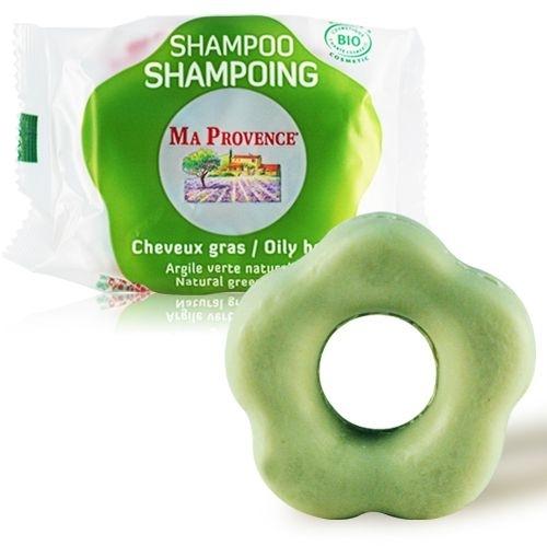 """Bio-șampon pentru păr gras """"Argilă verde"""" - Ma Provence Shampoo — Imagine N2"""