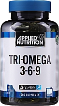 Parfumuri și produse cosmetice Omega 3-6-9 - Applied Nutrition TRI-Omega 3-6-9