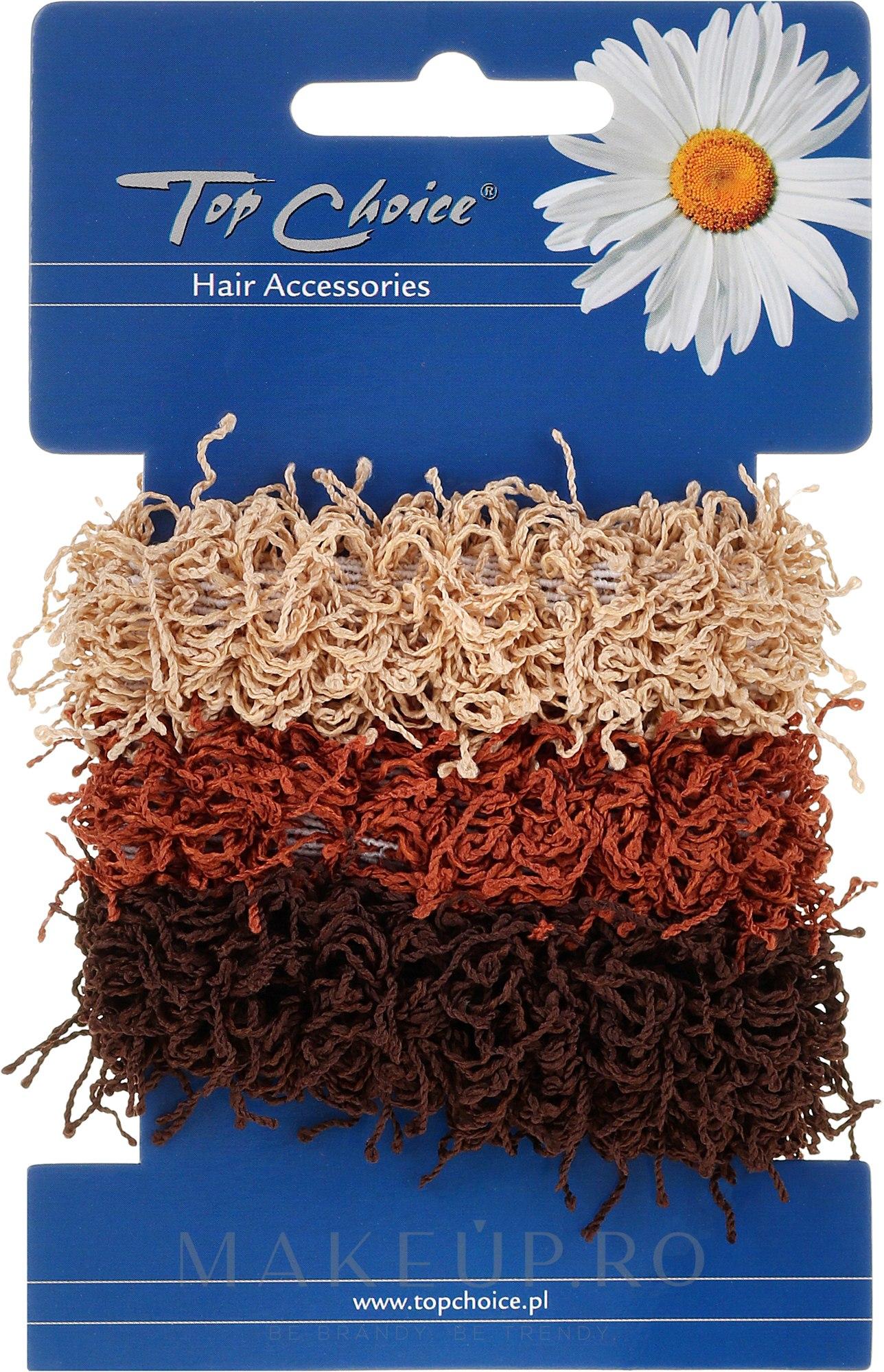 Elastice de păr 3 bucăți - Top Choice — Imagine 3 buc