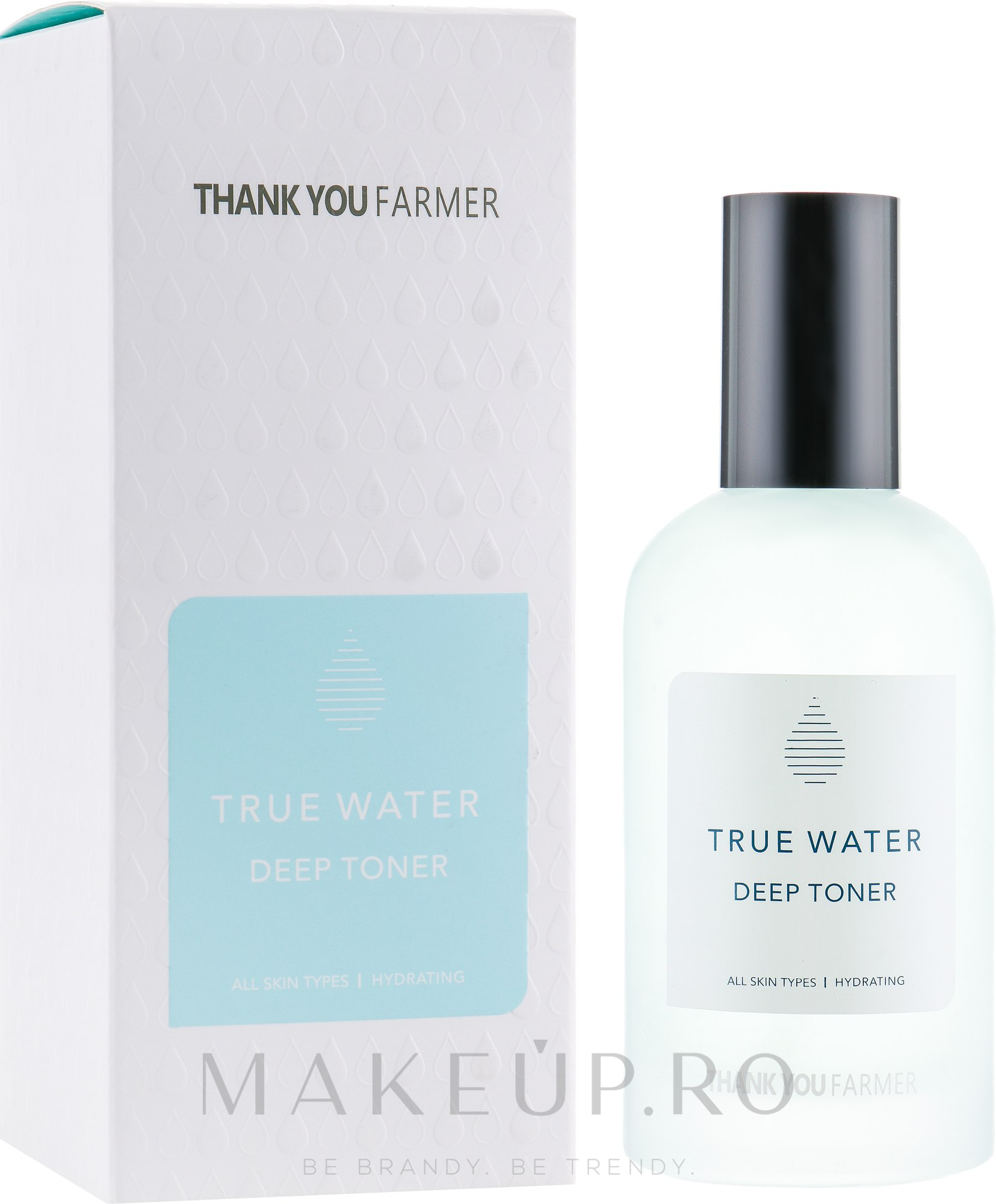 Tonic profund hidratant pentru față - Thank You Farmer True Water Toner — Imagine 150 ml
