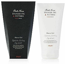 Parfumuri și produse cosmetice Bath House Spanish Fig and Nutmeg - Gel de ras