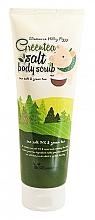 Parfumuri și produse cosmetice Scrub cu extract de ceai verde pentru corp - Elizavecca Body Care Milky Piggy Greentea Salt Body Scrub