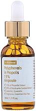 Parfumuri și produse cosmetice Ser antiinflamator cu propolis pentru față - By Wishtrend Polyphenols In Propolis 15% Ampoule