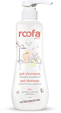 Parfumuri și produse cosmetice Șampon-gel de duș cu calendula și pantenol pentru copii - Roofa Calendula & Panthenol Gel-Shampoo