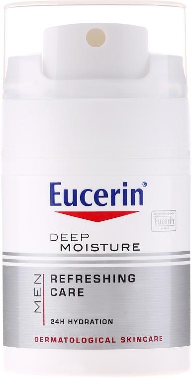 Cremă hidratantă pentru bărbați - Eucerin Men Deep Moisture Refreshing Care — Imagine N2