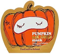 Parfumuri și produse cosmetice Mască nutritivă cu extract de dovleac și aur - Too Cool For School Pumpkin 24k Gold Mask