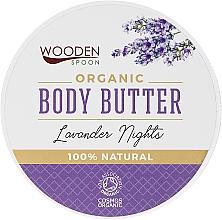Cremă Unt de corp - Wooden Spoon Lavander Nights Body Butter — Imagine N1