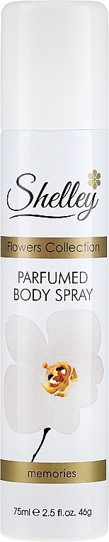 "Deodorant-spray ""Memories"" - Shelley Body Spray Memories"