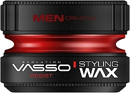 Parfumuri și produse cosmetice Ceară pentru păr - Vasso Professional Hair Styling Wax Resist