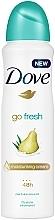 """Parfumuri și produse cosmetice Deodorant antiperspirant """"Pară și Aloe Vera"""" - Dove Go Fresh Pear & Aloe Vera Scent"""