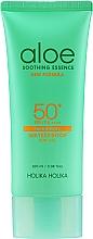 Parfumuri și produse cosmetice Gel de protecție solară pentru față - Holika Holika Aloe Waterproof Sun Gel