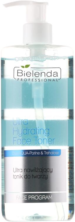 Tonic ultra-hidratant pentru față - Bielenda Professional Face Program Ultra Hydrating Face Toner