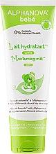 Parfumuri și produse cosmetice Lăptișor de corp hidratant - Alphanova Bebe Moisturizing Milk