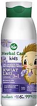 """Parfumuri și produse cosmetice Gel de baie 3 în 1 """"Floare de in"""" - Farmona Herbal Care Kids"""