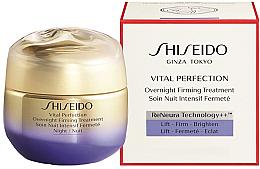 Parfumuri și produse cosmetice Cremă de noapte pentru față - Shiseido Vital Perfection Overnight Firming Treatment