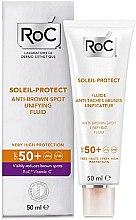 Parfumuri și produse cosmetice Fluid iluminant împotriva petelor pigmentare - RoC Soleil Protect Anti-Brown Spot Unifying Fluid SPF50
