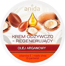 Parfumuri și produse cosmetice Cremă nutritivă cu ulei de argan - Anida Pharmacy Argan Oil Nourishing Cream