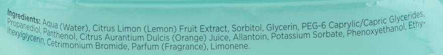 "Șervețele micelare demachiante ""Orange"" - Bielenda Fresh Juice Micelar Make-up Removing Wipes — Imagine N3"