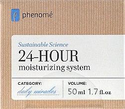 Parfumuri și produse cosmetice Cremă hidratantă cu efect 24h - Phenome 24 Hour Moisturizing Sistem Cream