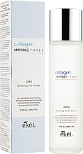 Parfumuri și produse cosmetice Toner hidratant cu colagen - Ekel Collagen Ampoule Toner