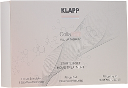 Parfumuri și produse cosmetice Set - Klapp Collagen Starter Set Home Treatment