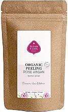 Parfumuri și produse cosmetice Scrub organic pentru corp - Eliah Sahil Organic Peeling Rose Argan (rezervă)