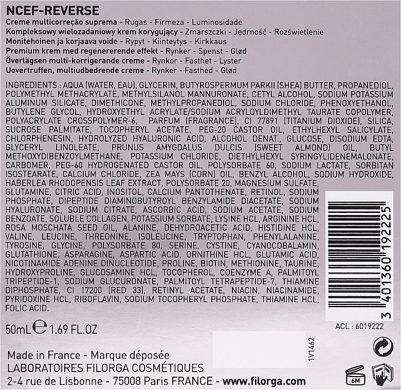 Fluid pentru față - Filorga NCTF-Reverse Supreme Regenerating Cream — Imagine N3